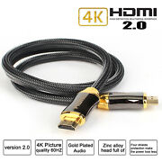 Hdmi 2.0 Cable W/ethernet For Cd/dvd/blu-ray Players, Fire Tv, Roku Ultra, Ps4/5