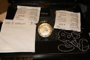 Model 24530 Limited Edition 0309/5000 Disney Grand Diver Gold Ss Watch
