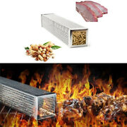 6and039and039 Stainless Steel Outdoor Wood Pellet Grill Smoker Filter Tube Pipe Smoke Bbq