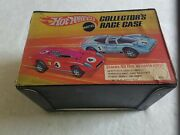 Hot Wheels Collectors Race Case 1969 With 48 1968-1970 Vintage Cars