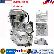 4-stroke Vertical Engine Air Cooled With Manual Transmission For Atv 200cc 250cc