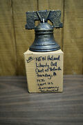 Sperry New Holland Farm Tractors 1976 Bronze Liberty Bell Coin Bank
