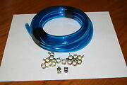 Aermacchi Harley New Oil Hose And Clamps For 1974 - 1978 Sx175 Ss175 Sx250 Ss250
