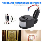 Pir Infrared Motion Sensor Switch Wall Light Automatic Detector Outdoor Indoor