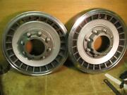 2 Ford F250 4x4 Front Hubcaps For 16 Wheels 1987-1994