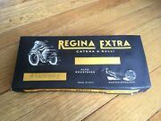 Nos 50x102 Regina Drive Chain Vintage Harley And Indian Motorcycles Made In Italy