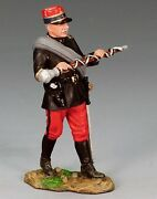 King And Country Fw068 Wwi French Drum Major Marching - Retired - Mint In The Box
