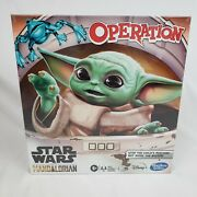 New In Box Hasbro Operation Game Star Wars The Mandalorian Edition Board Game