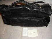 Mulberry Soft Buffalo Leather Bag Made In England Size H-23cmx L-42cm X W-17cm