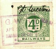 Gb Wales Railway Letter Cover 1926 Bangor Great Western Cambrian Gwr Stamp 62g