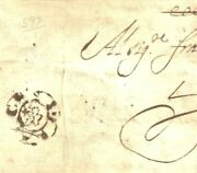 Gb Cover 1678 London Franches / Rose Early Foreign Paid Postmark Livorno 36g