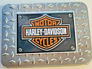 Harley-davidson Motorcycles Collectible Playing Cards 2 Decks In Tin Hd-dpd-1