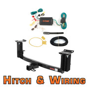 Curt Class 1 Trailer Hitch And Wiring For Mercedes-benz S-class