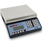 Intelligent Weighing Sc-27 Setra Super Count Counting Scale 27 Lb X 0.0005 Lb