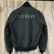 Real Mccoyand039s Authentic Deck Hook Jacket Us.navy Mj17107 Size 40 Used From Japan