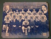 1931-32 Toronto Maple Leafs Jigsaw Puzzle-general Motors- 1st Edition-very Rare