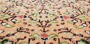 Beautiful Vegy Dye Antique 1940and039s Wool Pile Legendary Hereke Rug 6and0393andtimes9and0396