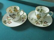 Haviland Limoges France Pair Of Coffee Cups [85]