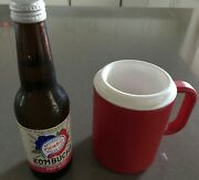 Cold Drink Mug With Handle -freeze Inner Unit-13-cms Tall Purchased New-classic