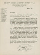John Haynes Holmes Signed Autographed Letter 1938 Co-founder Of Aclu And Naacp