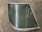 1993 Chaparral Signature 27 Right Side Curved Glass Windshield Piece