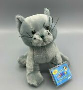 Ganz Webkinz Charcoal Cat. New With Sealed Code And Tag Greyandnbsp