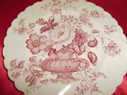 2 Vintage Royal Staffordshire Clarice Cliff Charlotte 8 Inch Salad Plates