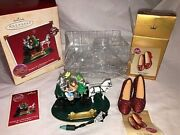 Hallmark Keepsake Ornaments Wizard Of Oz Horse Of A Different Color Ruby Slipper