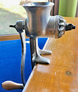 Antique Food And Meat Chopper / Landers, Frary And Clark / Box, Instruc.-order Form