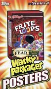Wacky Packages Series 1 Posters Card Box 18 Packs Topps 2012