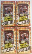 4 Wacky Packages Series 1 Posters Card Box 4 Sealed Boxes 18 Packs Topps 2012