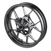 Front Wheel Rim Motorcycle Fit Bmw 2009-2015 S1000rr And 2014 2015 S1000r Black