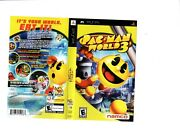 Pacman World 3 Psp Artwork Only Authentic