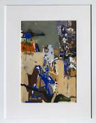Sidney Gross Untitled 2 Gouache On Paper Signed And Dated Lower Right