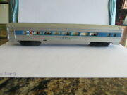 Vintage Tyco 521n Ho Scale Electric Trains Amtrak Coach Car Silver Passenger