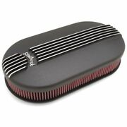 Edelbrock 41193 Air Cleaner Assembly Classic Series Dual-quad Oval Aluminum New