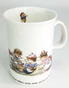 Dunoon Fine Bone China Mugs Foxwood Regatta By Brian Paterson Made In England