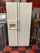 Kitchen Aid Double Door Refigerator And Freezer. Used 10 Yrs Oldnew Ice Maker