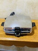 Rare Vintage Cg-1 Sunbeam Waffle Iron Maker Baker And Grill Model. Tested