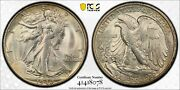 1940 S Walking Liberty Half Pcgs Ms 66 Great Satiny Silver Mint Bloom Tough Date