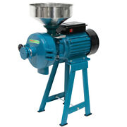 Upgraded 3000w Wet Dry Cereals Grinder Electric Grinder Flour Mill With Funnel