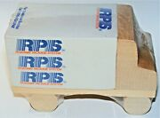 Vtg Mid 80s Roadway Package System Trucking Note Paper Cube Sealed Semi-truck