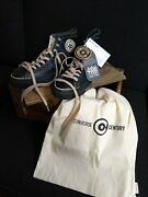 Converse Black Fives 1933 Rens All Star - Century Pack - Rare Collectible - 9