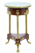 Early 20th Century Mahogany Empire Style Occasional Table