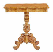 19th Century Swedish Birch Root Shaped Occasional Table