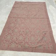 Beautiful Large Burgundy Wall Tapestry 101 1/4 Long By 61 Wide