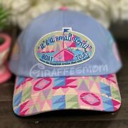 Disney Parks It's A Small World Boat Tours Parks Authentic Baseball Hat Cap New