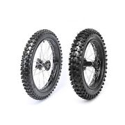 17 + 14 Inch 70/100-17 90/100-14 Wheel Tire Pit Bike Ssr125 Coolster 110 Tires