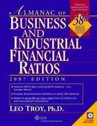 Almanac Of Business And Industrial Financial Ratios By Leo Troy