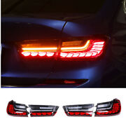 For Bmw 3 Series G20 Dark/red Led Rear Lights Led Taillights Assembly 2019-2021